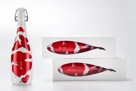 日本锦鲤清酒(KOI)包装设计