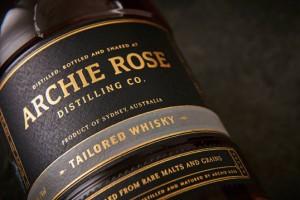 Archie Rose酒包装设计