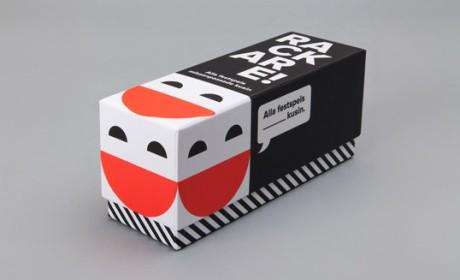 极具创意的Rackare桌面卡片游戏包装设计