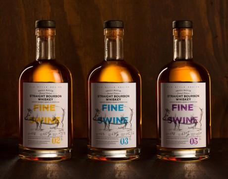 猪倌的威士忌酒包装设计
