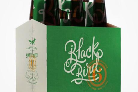 阿根廷黑鸟(Black Bird)啤酒包装设计
