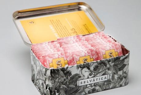 哥伦比亚Selvatica品牌水果茶包装设计