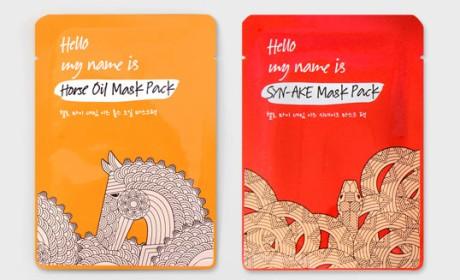 Mask Pack一款拟人形态面膜包装