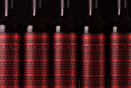 Buddy Mulled圣诞葡萄酒包装设计。