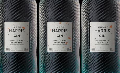 HARRIS金酒包装设计。