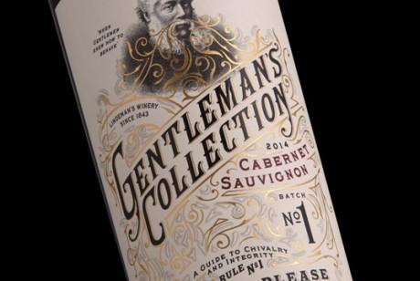 Lindeman绅士收藏 红酒包装设计。