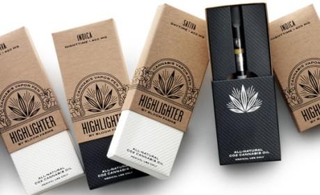 Bloom Farms Highlighter大麻电子烟包装设计