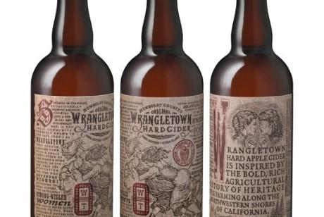 Wrangletown苹果酒包装设计