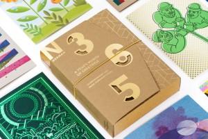 365信封贺卡设计