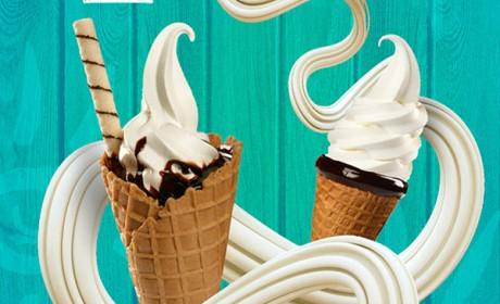通过NHO冰淇淋宣传海报设计来谈谈海报设计的经验