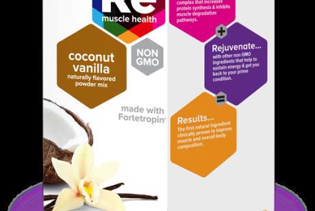 RE 促进肌肉健康修复再生药品包装设计
