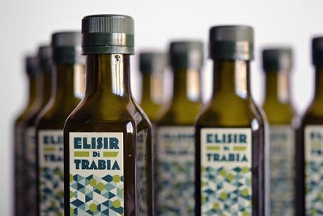 意大利Elisir di Trabia橄榄油包装设计