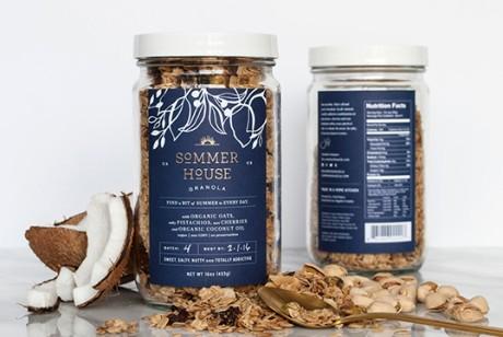 麦片包装设计理念-Sommer House麦片包装设计