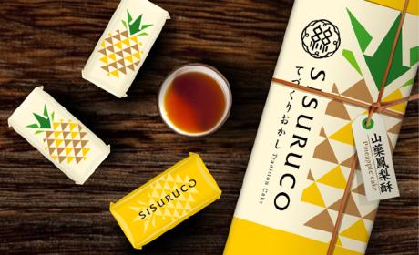 SISURUCO山药凤梨酥包装设计