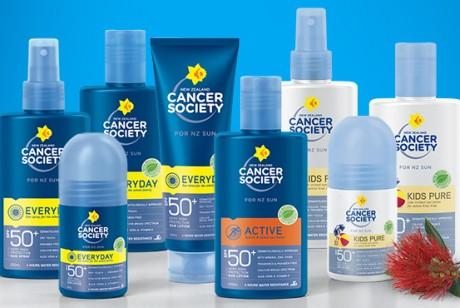 新西兰皮肤癌协会推介Cancer Society茜茜尔防晒霜