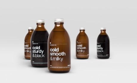 避暑灵药Cold Press Coffee包装设计