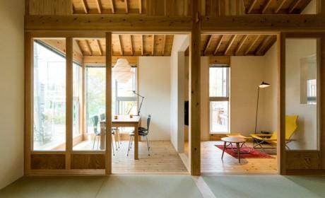 保留了榻榻米格局之后,这房子也能适应现代生活