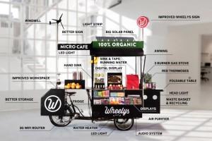 """想开个咖啡馆又没钱,试试这个""""小而美""""的移动咖啡车"""