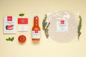 Comillas品牌自制比萨饼烤箱包装设计