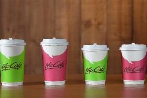 台湾麦当劳McCafe全面换装亮丽上市