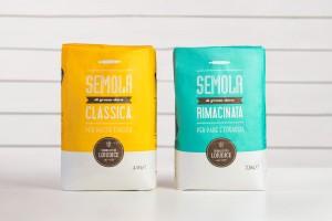 Semolificio Loiudice面粉包装设计