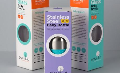 奶瓶包装设计