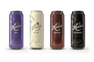 特种啤酒包装设计Hansa系列