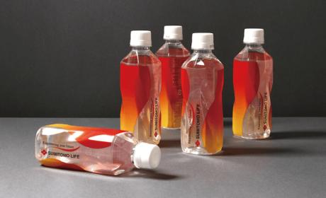 住友生命保险公司矿泉水瓶包装设计