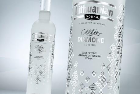 立陶宛伏特加LITHUANIAN VODKA黄金.钻石版包装设计
