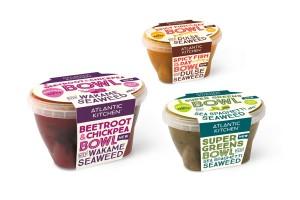 大西洋厨房(Atlantic Kitchen)推出的海藻即食汤包装设计