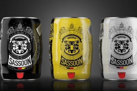 萨松啤酒包装设计丨心有猛虎,细嗅蔷薇