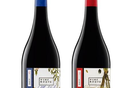 葡萄树根(Vine Roots )红酒包装设计