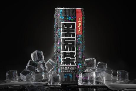 王老吉黑凉茶包装设计丨演绎五彩斑斓的黑