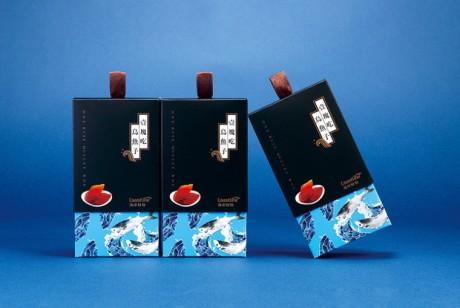 海鲜产品包装设计欣赏:壹块吃乌鱼子包装设计