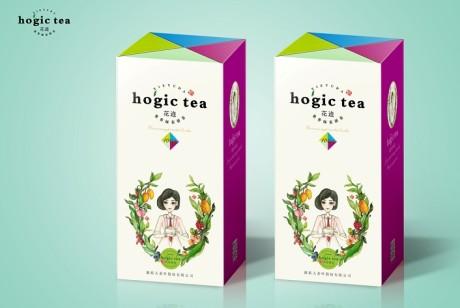 谢裕大花迹拼配茶包装设计
