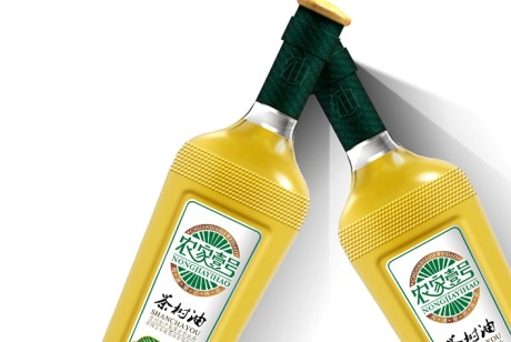 金沙米油包装设计
