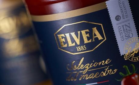 Elvea Selezione Del Maestro番茄酱包装设计