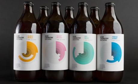 Good Chemistry Brewing啤酒包装设计