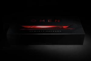 惠普OMEN全球笔记本电脑包装设计
