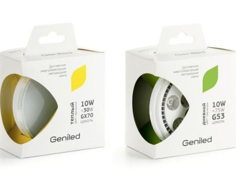 LED绿色节能灯包装设计
