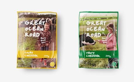 GREAT OCEAN ROAD 乳制品包装设计