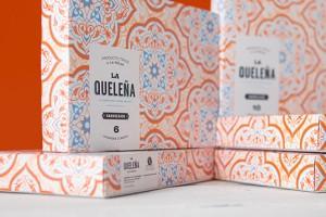 La Queleña 阿拉伯甜点系列包装设计