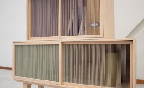 鳞片抽屉与变色橱柜 家具也能与人互动