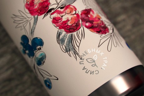 CORNICA水彩插画洗发水沐浴露包装设计