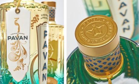 Pavan高端鸡尾酒玻璃瓶型设计与包装设计