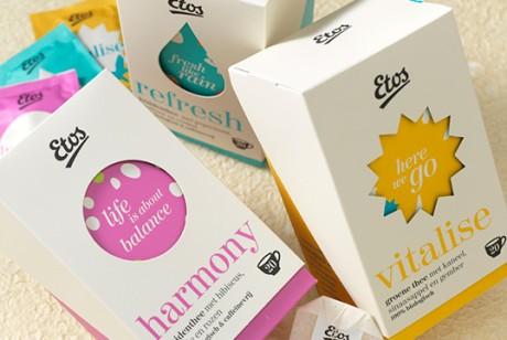 Etos 现代茶包装设计