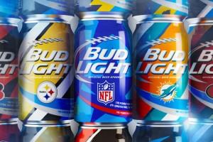 Bud Light NFL Cans 69限量版百威淡啤酒罐设计