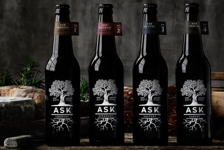 提升三倍销量的ASK啤酒包装设计