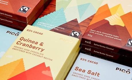 墨尔本PICO无麸质巧克力包装设计