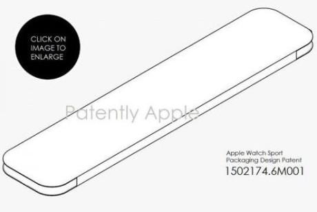 苹果为Apple Watch Sport申请包装设计专利